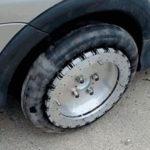 Канадец Уильям Лиддиард создал всенаправленные колёса