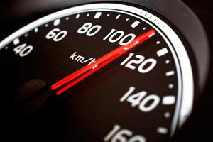 скорость 110 километров в час